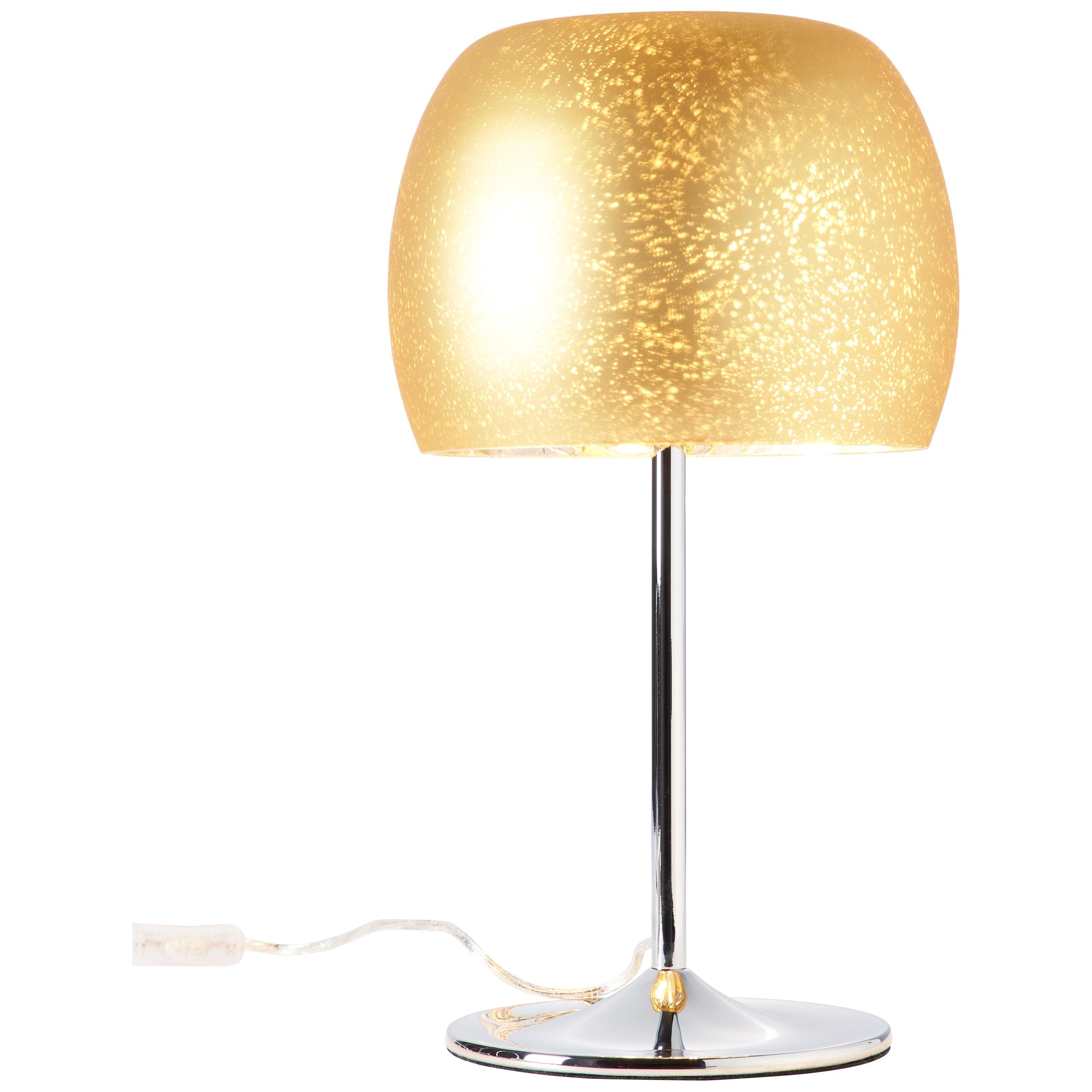 Brilliant Leuchten Gleam Tischleuchte gold