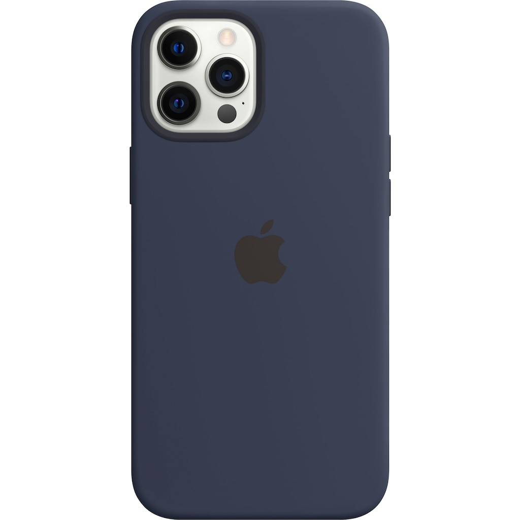 Apple Smartphone-Hülle »iPhone 12 Pro Max Silikon Case mit MagSafe«, iPhone 12 Pro Max