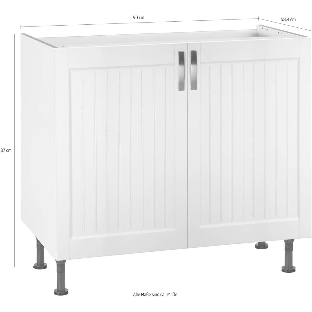 OPTIFIT Spülenschrank »Cara«, Breite 90 cm