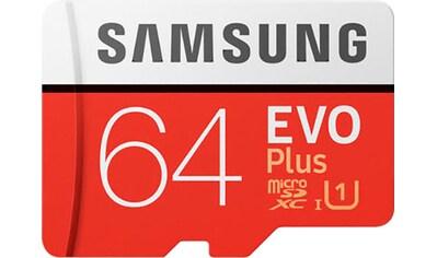 Samsung Speicherkarte »EVO Plus 2020 microSD«, ( UHS Class 1 100 MB/s Lesegeschwindigkeit) kaufen