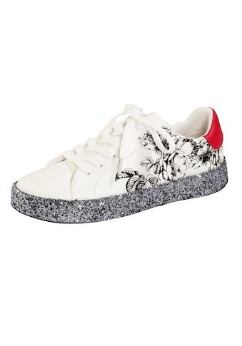 Liva Loop Sneaker mit Glitterplateaulaufsohle kaufen