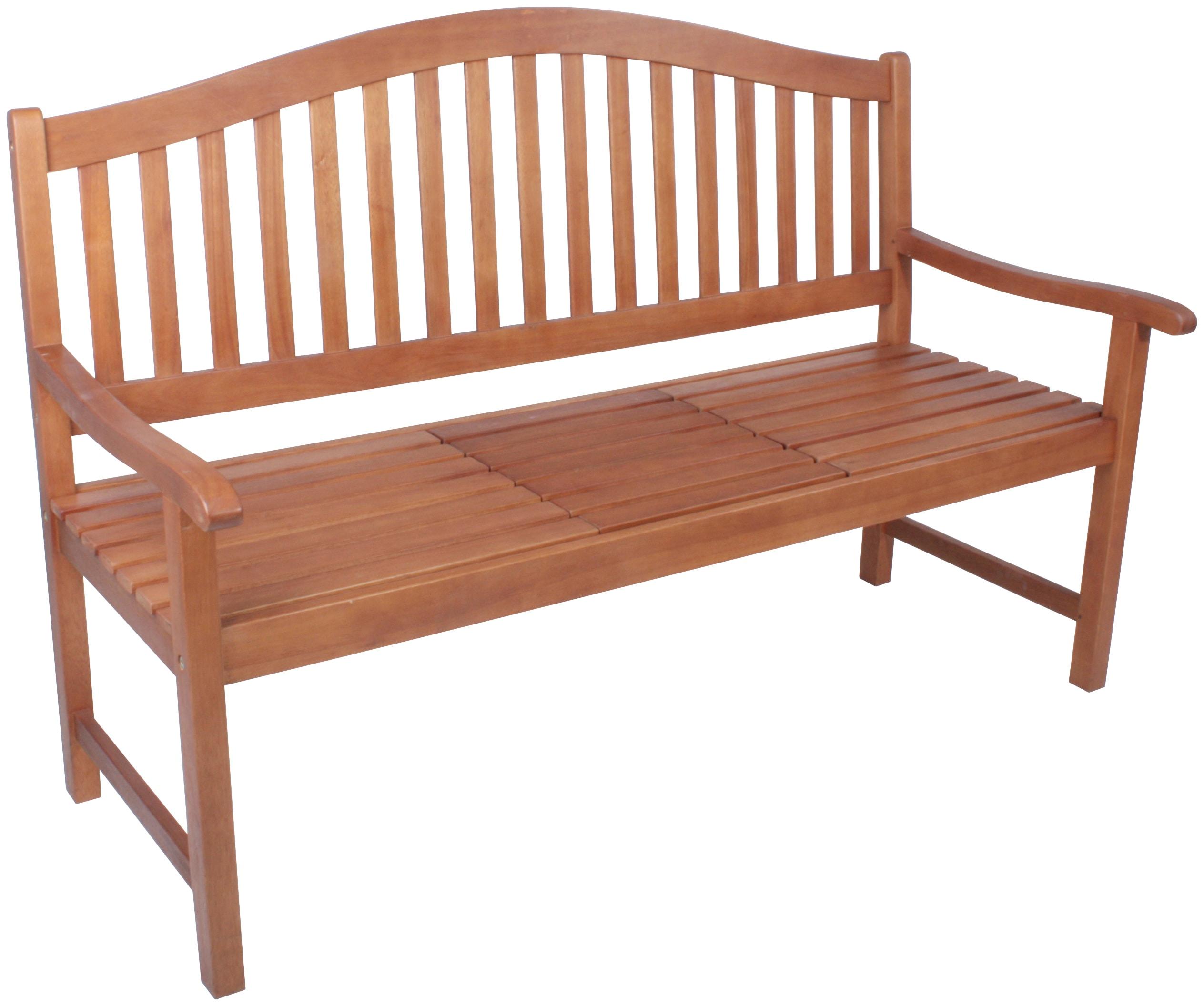 GARDEN PLEASURE Gartenbank PHUKET Eukalyptus 150x105x63 cm braun