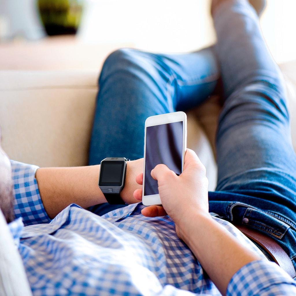 X-Watch Smartphone Uhr und Fitnesstracker mit SIM