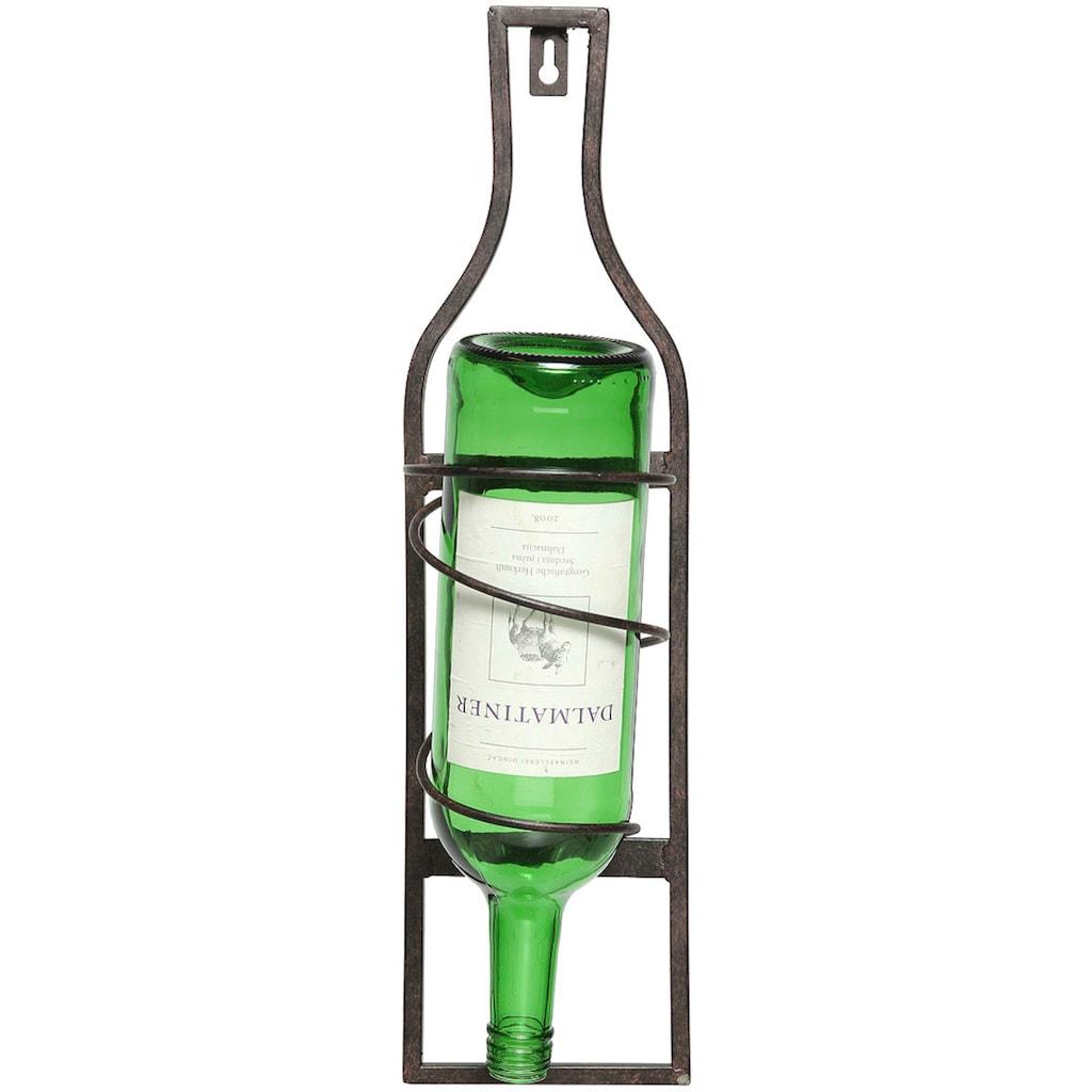 Ambiente Haus Flaschenhalter »Flaschenständer zum hängen 45cm«