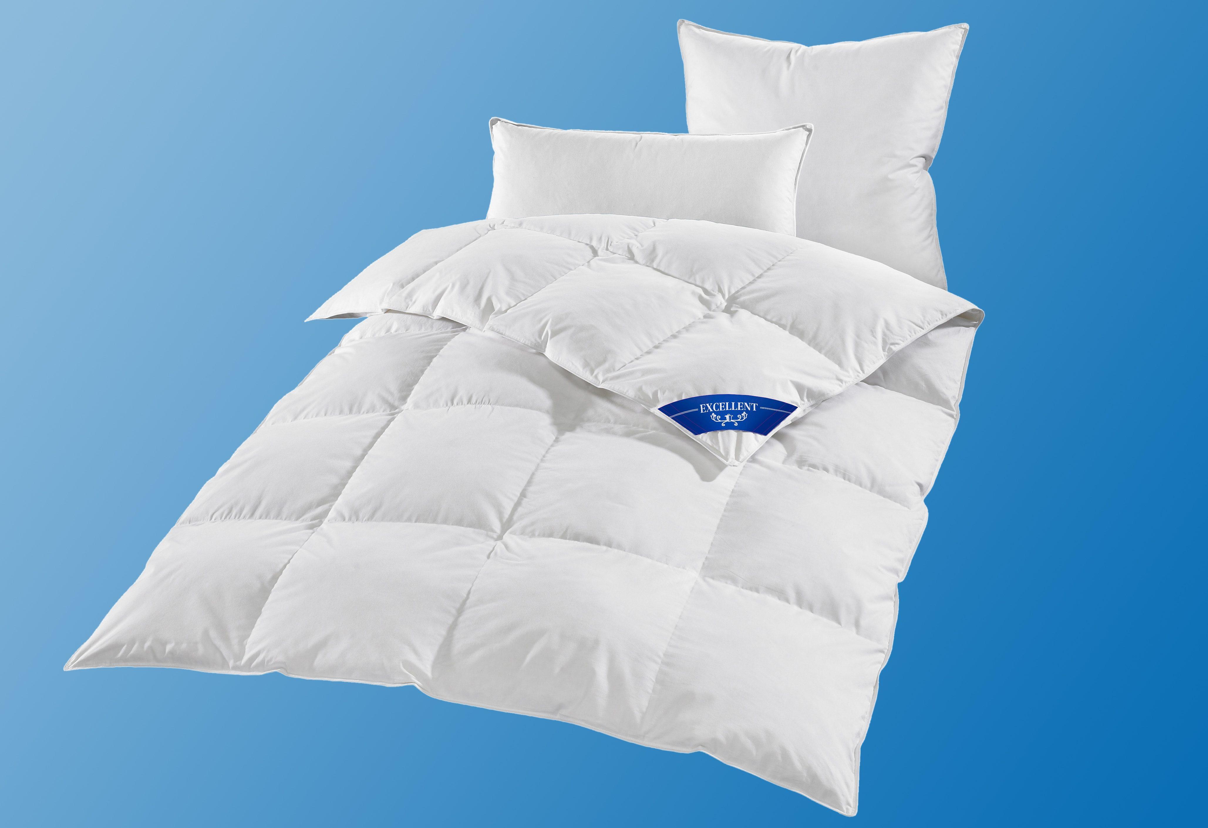 Daunenbettdecke First Class Excellent warm Füllung: 100% Daunen Bezug: 100% Baumwolle