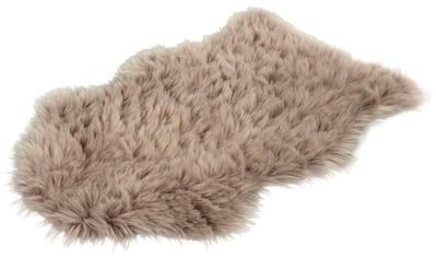 Hochflor - Teppich, »Softa 800«, LALEE, fellförmig, Höhe 52 mm, handgetuftet kaufen