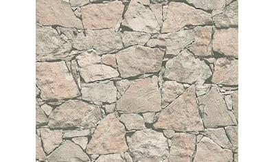 living walls Vliestapete »Best of Wood`n Stone 2nd Edition«, Steinoptik, Naturstein kaufen