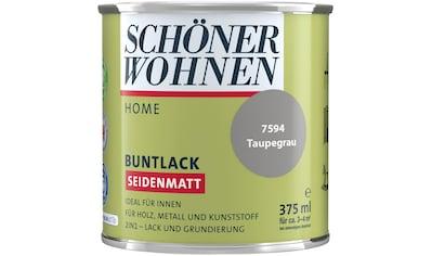 SCHÖNER WOHNEN-Kollektion Lack »Home«, seidenmatt, 375 ml, taupegrau kaufen