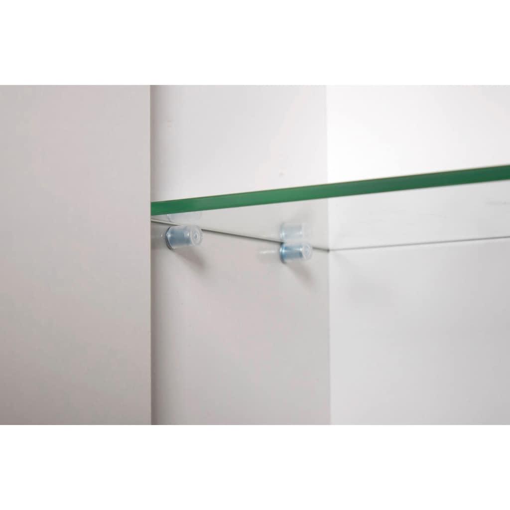 Schildmeyer Spiegelschrank »Basic«, Breite 120 cm, 3-türig, Glaseinlegeböden, Made in Germany