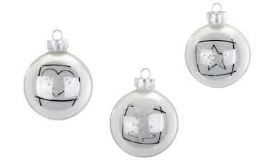 INGE - GLAS® Dekorierte Glaskugel »Magic«, ((8 - teilig)) kaufen
