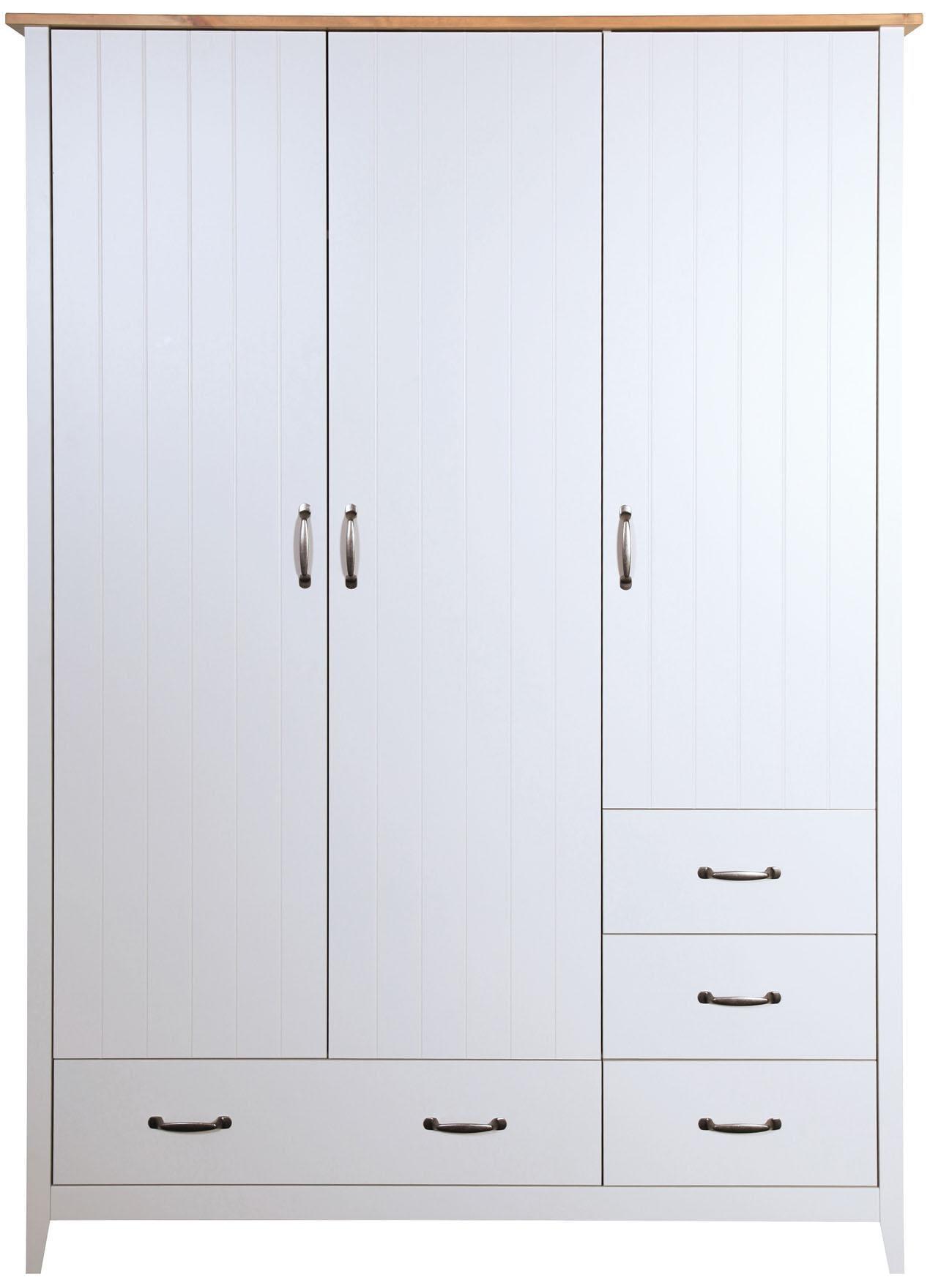 Home affaire Kleiderschrank Norfolk 3-trg Breite 142 cm