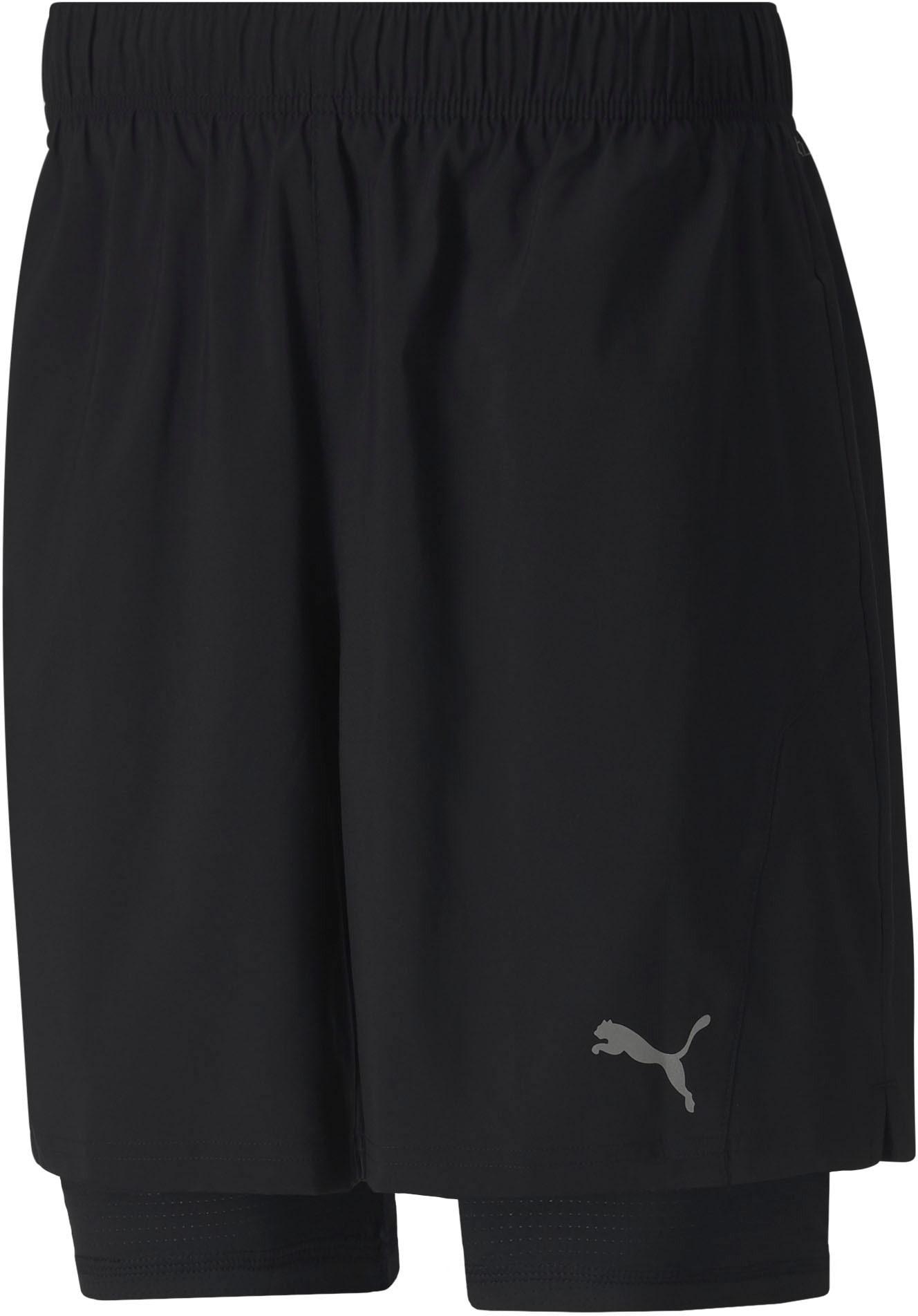 PUMA Trainingsshorts Run Favorite Woven 2in1 7 Short schwarz
