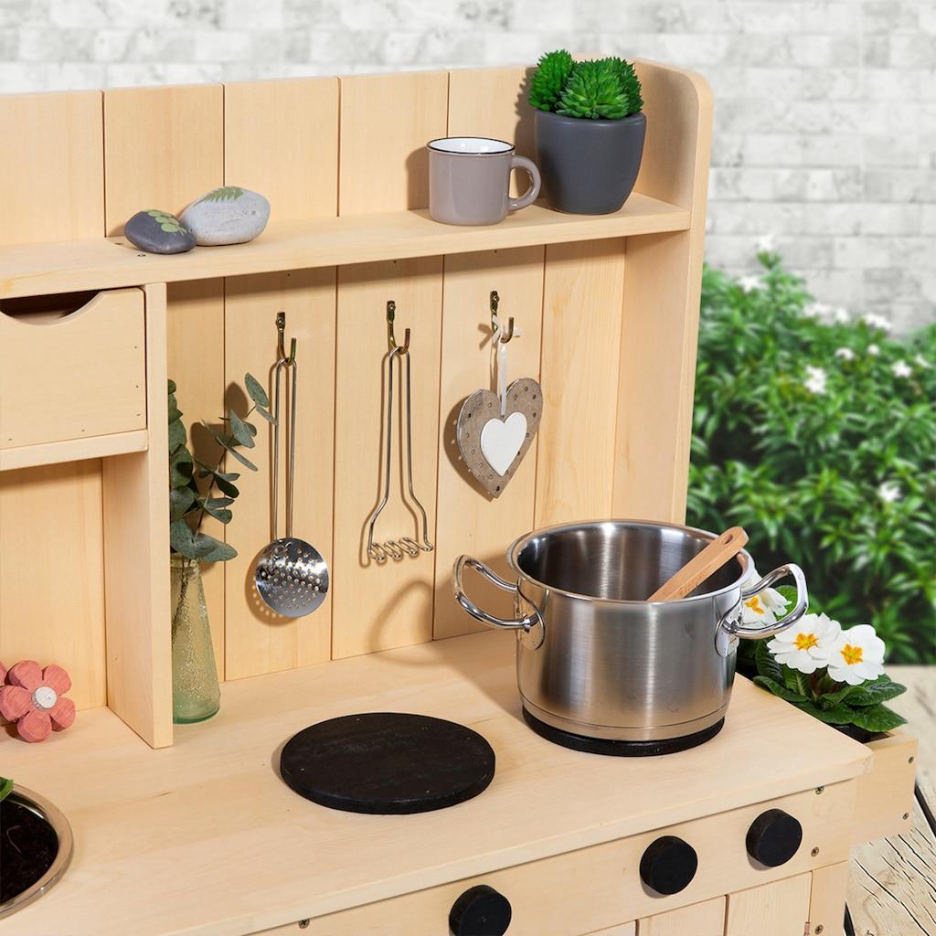 MUDDY BUDDY® Spielküche »Matschküche Explorer«, BxLxH: 40x102x105 cm