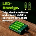 GP Batteries Batterie-Ladegerät »USB-Modell GP B421 4 x ReCyko AA 2100 mAh«