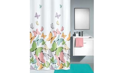 Kleine Wolke Duschvorhang »Butterflies«, Breite 240 cm, (1 tlg.) kaufen