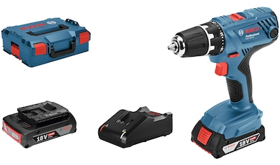 Bosch Professional Akku-Bohrschrauber »GSR 18V-21«, inkl. 2 Akkus, Ladegerät und Koffer kaufen