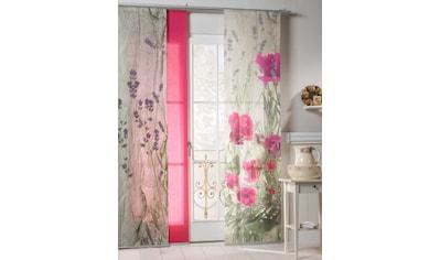 emotion textiles Schiebegardine »Landhaus Rose«, HxB: 260x60, mit Befestigungszubehör kaufen