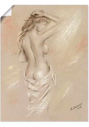 Artland Wandbild »Reizvolle Rundungen - weiblicher Akt«, Frau, (1 St.), in vielen... kaufen