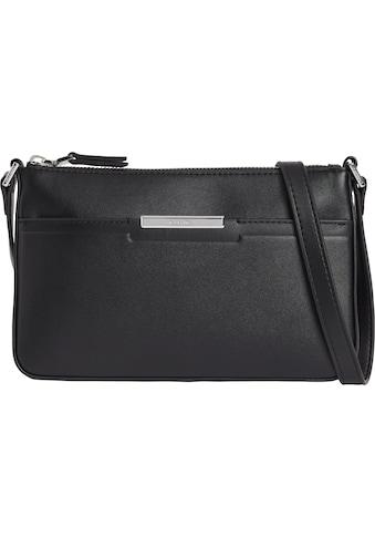 Calvin Klein Umhängetasche »FOCUSED EW XBODY«, mit silberfarbenen Details kaufen