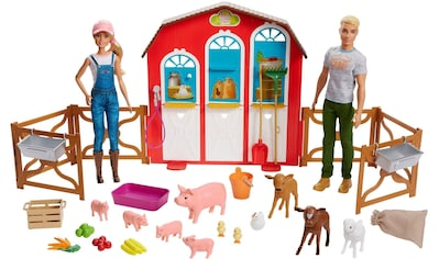 """Mattel® Anziehpuppe """"Barbie Bauernhof Spielset mit 2 Puppen"""" kaufen"""