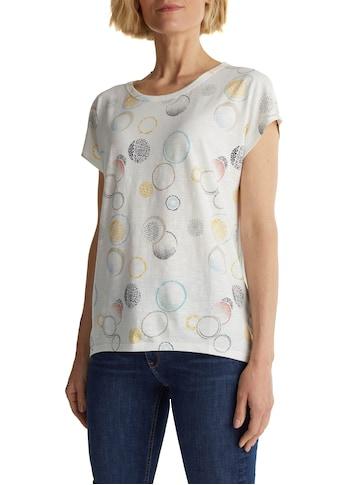 Esprit T-Shirt, mit Allover Print kaufen