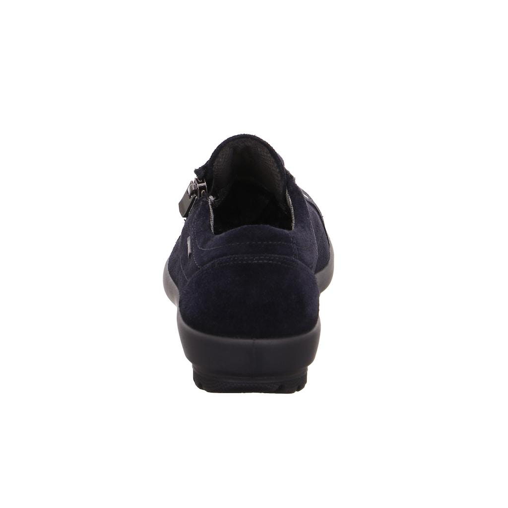 Legero Schnürschuh »Tanaro«, mit praktischem Außenreißverschluss