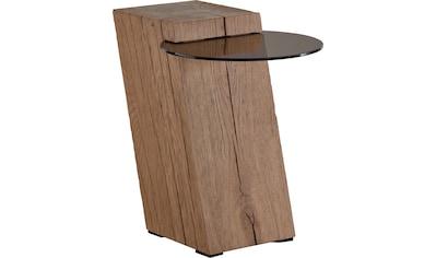 LEONARDO Beistelltisch »LIV«, Ablagefläche aus Parsolglas, Höhe 56 cm kaufen
