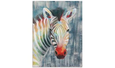 Artland Glasbild »Prisma Zebra I«, Wildtiere, (1 St.) kaufen