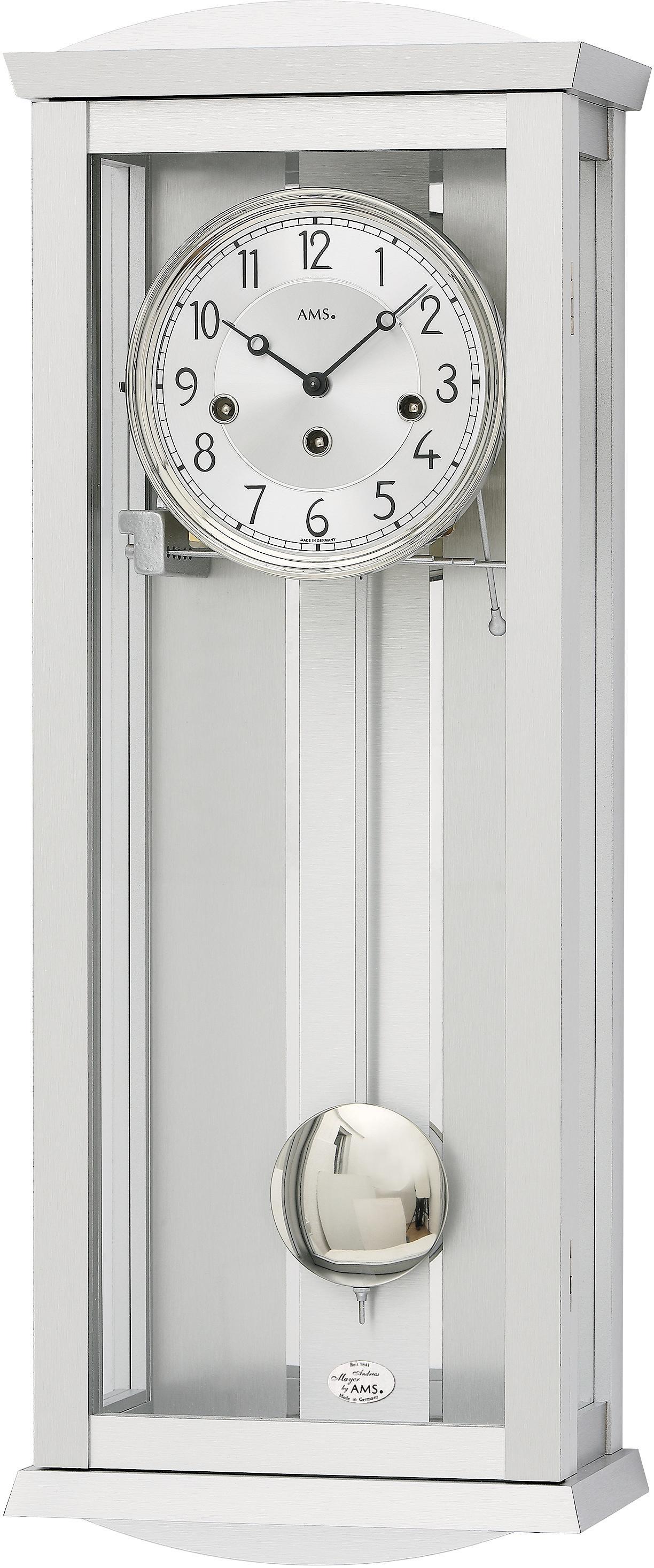 AMS Pendelwanduhr R2749 | Dekoration > Uhren > Wanduhren | Ams