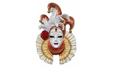 Casa Collection by Jänig Wanddekoobjekt »Elegante venezianische Maske zum Hängen, mit... kaufen