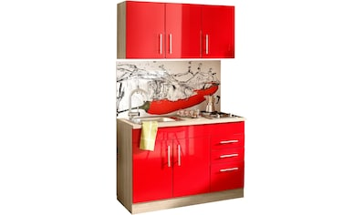 HELD MÖBEL Küchenzeile »Toledo«, mit E - Geräten, Breite 120 cm kaufen