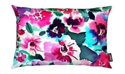 Dekokissen, »Zoe Floral Pink«, Juniqe kaufen