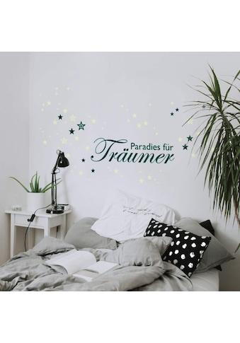 Wall - Art Wandtattoo »Wandtattoo Paradies Leuchtsterne« (1 Stück) kaufen