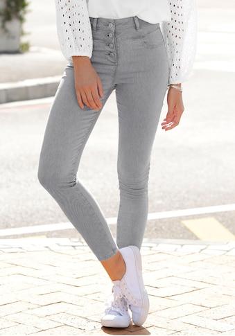 LASCANA High-waist-Jeans, aus Superstrech-Qualität kaufen