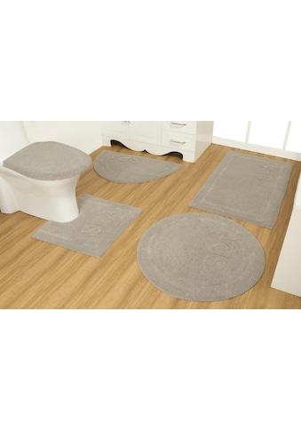 OTTO products Badematte »Rimma«, Höhe 14 mm, strapazierfähig, aus recycelter Baumwolle kaufen