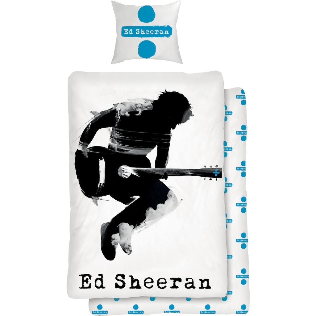 Kinderbettwäsche »Musician«, für Ed Sheeran Fans