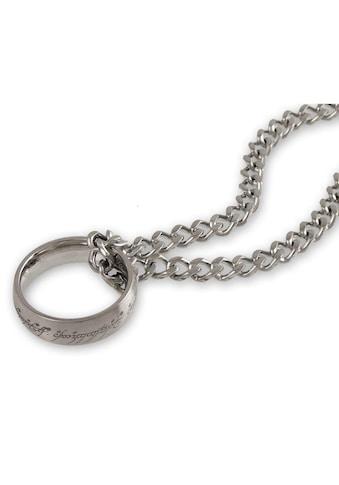 Der Herr der Ringe Kette mit Anhänger »Der Eine Ring an Kette, 10004027« kaufen