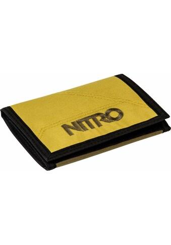 NITRO Geldbörse »Walled, Golden Mud« kaufen