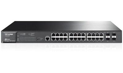 TP - Link Switch »T2600G - 28MPS 24 - Port Gigabit L2 POE 4x SFP« kaufen