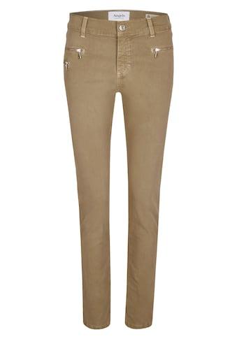 ANGELS Stoffhose, 'Malu Zip' mit coolen Reißverschlussdetails kaufen