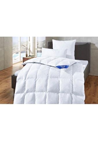 Excellent Daunenbettdecke »Komfort«, leicht, Füllung 60% Daunen, 40% Federn, Bezug 100% Baumwolle, (1 St.), Schlafkomfort fürs ganze Jahr! kaufen