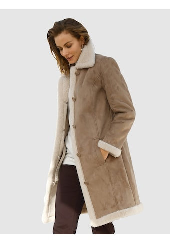 Paola Kurzmantel, aus Lammfellimitat kaufen