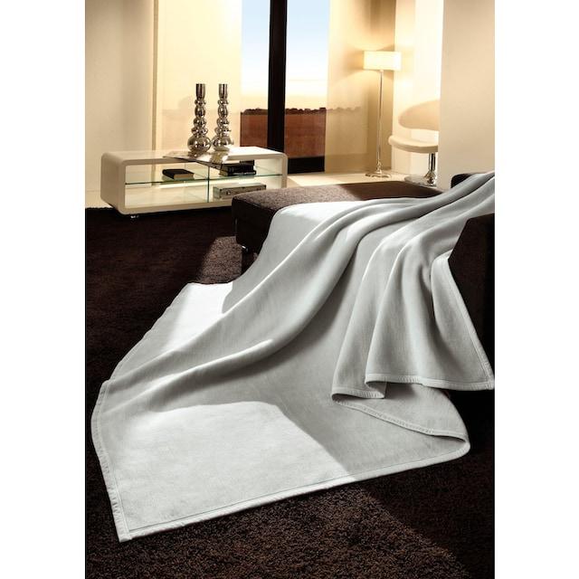 Wohndecke »Uno Cotton«, BIEDERLACK