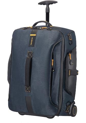 Samsonite Reisetasche »Paradiver Duffle 55, jeans blue mit Trolley- und Rucksackfunktion« kaufen