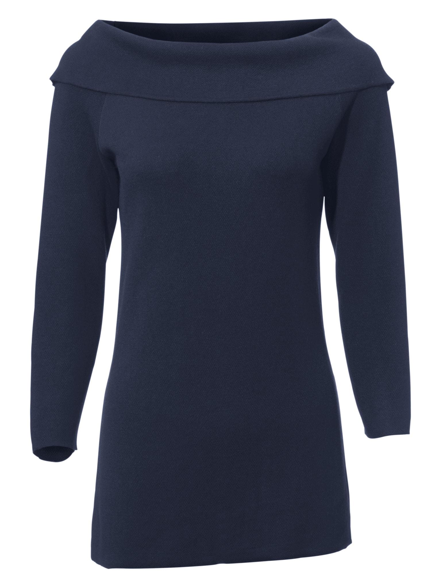 heine TIMELESS Carmenpullover Viskose | Bekleidung > Pullover > Carmenpullover | Blau | Ca - Polyamid | Heine Timeless
