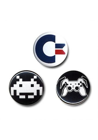 LOGOSHIRT Button im 3er - Set für echte Computer - Fans kaufen