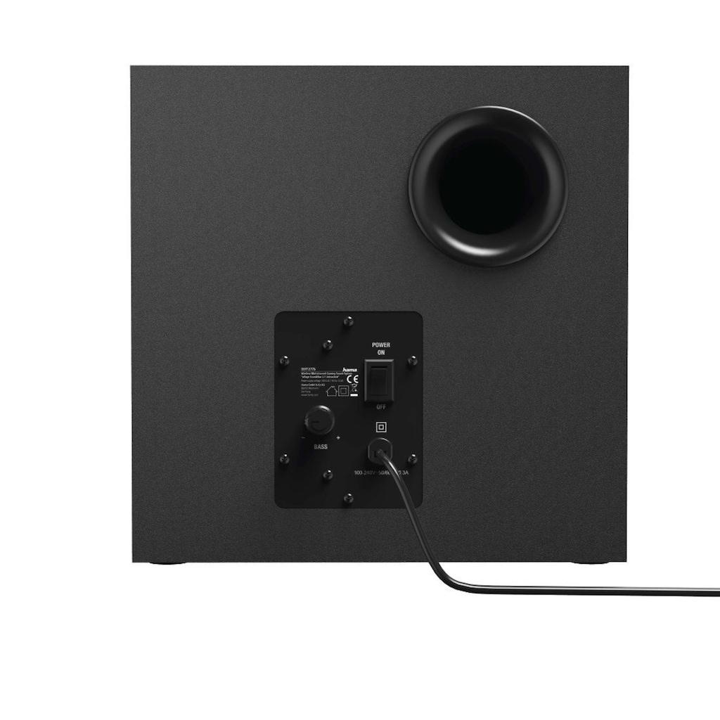 uRage Gaming Soundbar m. Subwoofer, 2.1 Soundsystem, wireless/AUX