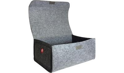 Franz Müller Flechtwaren Aufbewahrungsbox »Filzwerk«, (1 St.), mit Deckel kaufen
