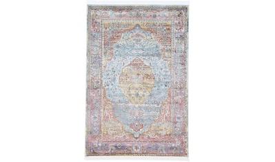 carpetfine Teppich »Esha«, rechteckig, 8 mm Höhe, Vintage Look, Wohnzimmer kaufen