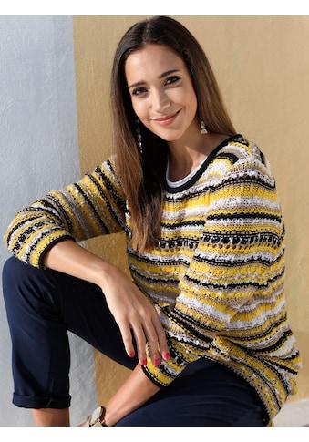 MIAMODA Pullover mit modischem Effektgarn kaufen